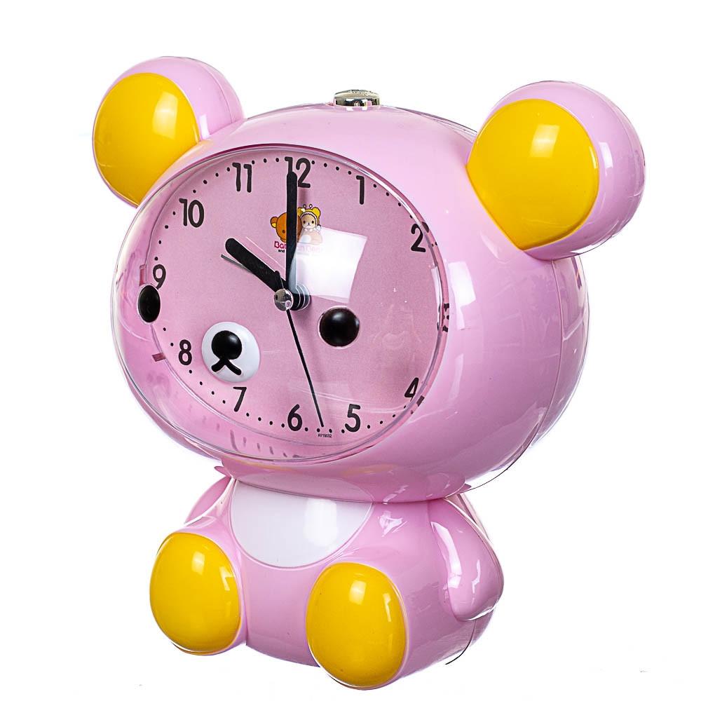 Годинник будильник Lefard Ведмедик 17х16х11 см 12008-001-B