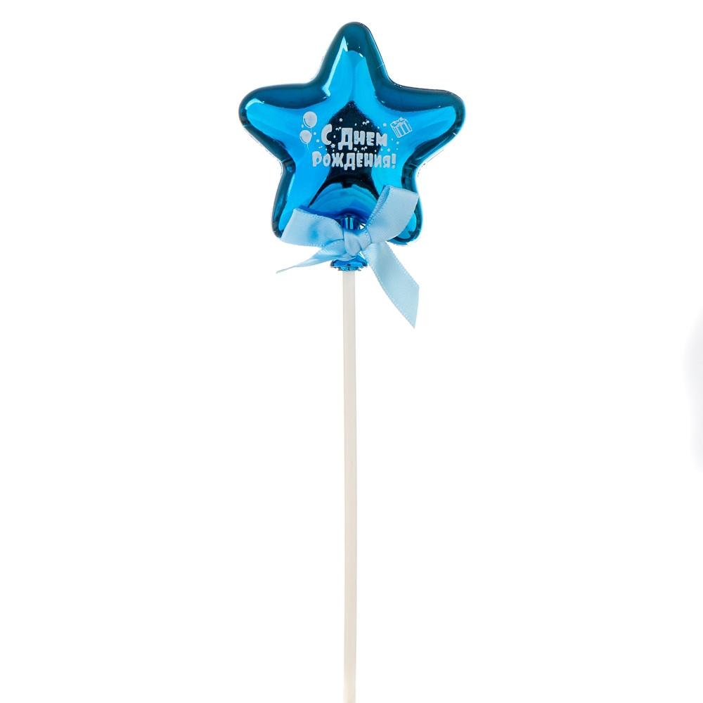 Топпер Шарик в форме звезды 21 см 8132-012