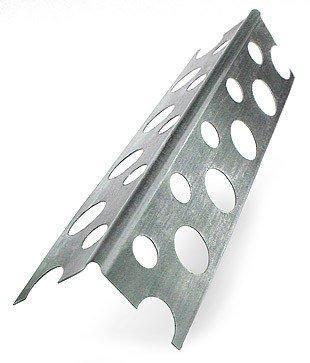 Уголок для г/к алюминиевый 25*25*2500 перфорированный 0.3мм