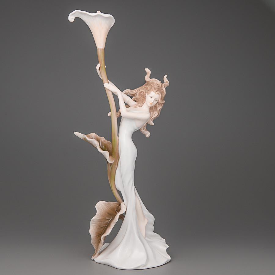 Підсвічник Unicorn Studio Дівчина з квіткою 32 см 20110
