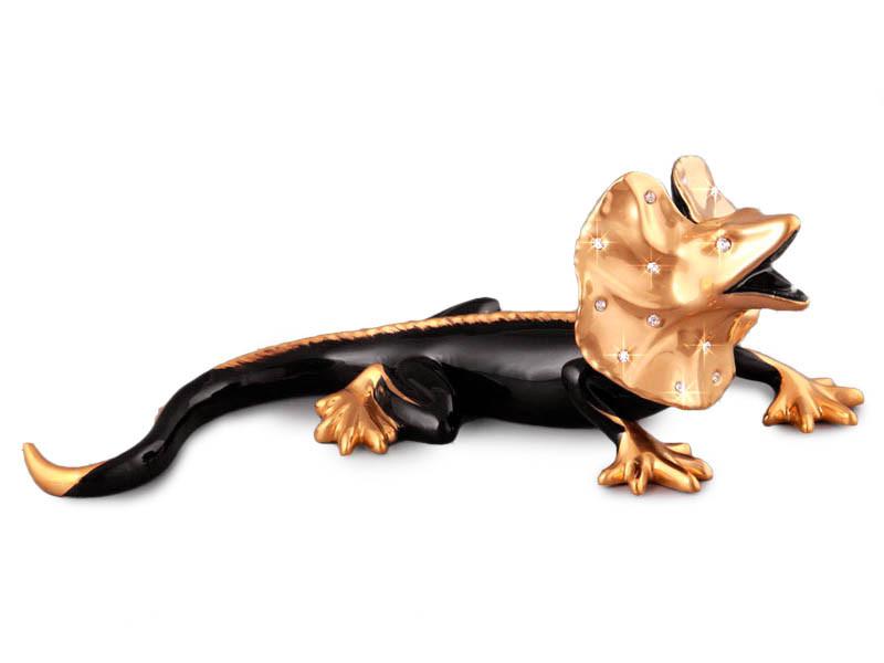 Статуетка Ящірка 39 см фарфор 98-1196