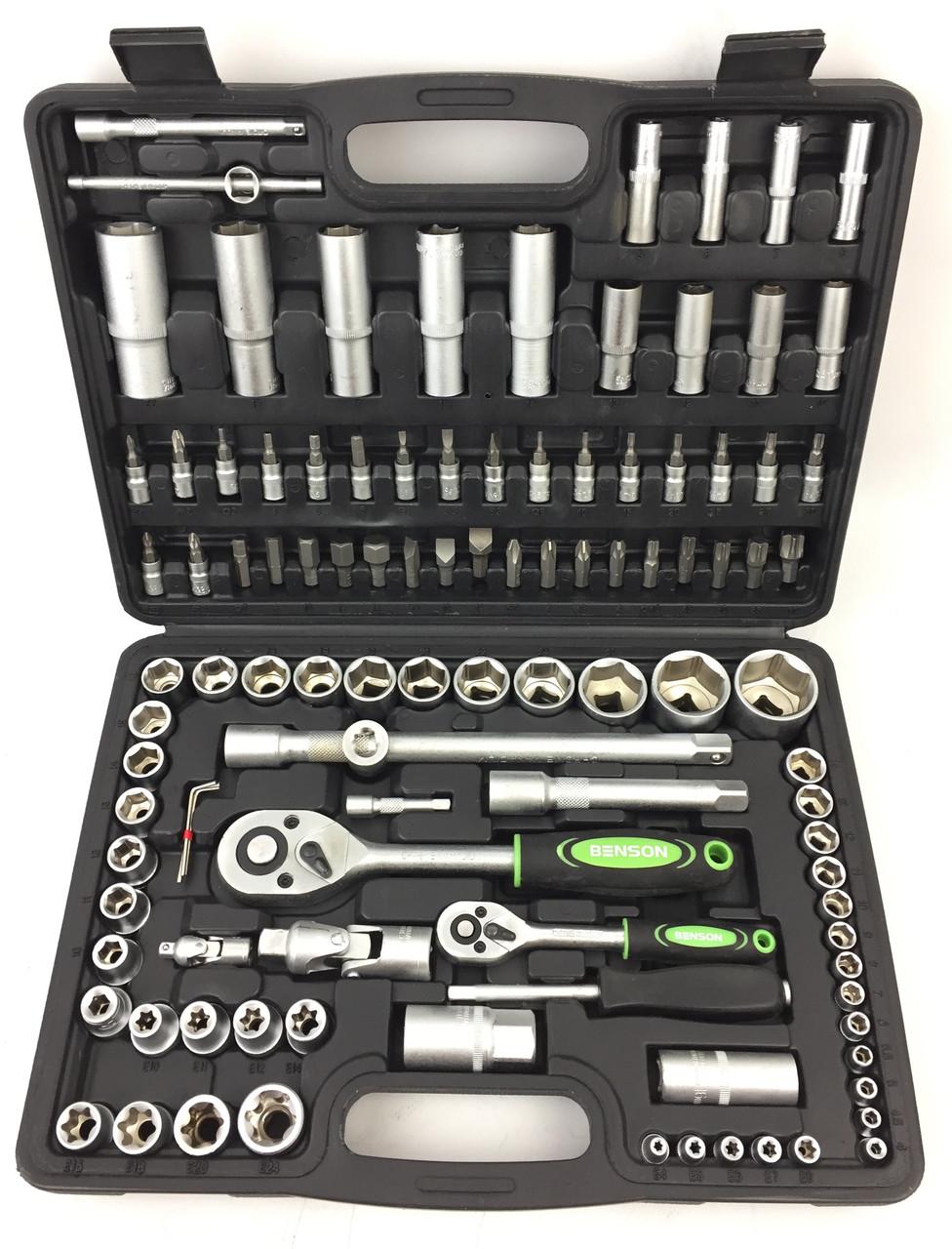 Полупрофессиональный набор инструментов Benson 108 ед.