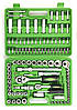 Набор инструментов AL-FA 108 ед.(ALCC108), фото 3