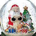 Снігова куля Lefard Вітання від Санти 13х10 см 16002-013, фото 3