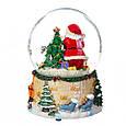 Снігова куля Lefard Вітання від Санти 13х10 см 16002-013, фото 4