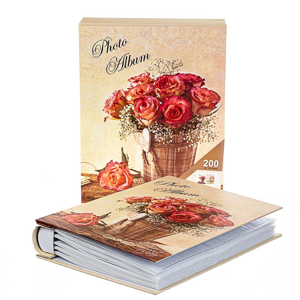 Фотоальбом Veronese Троянди 200 фото 10х15 8140-019