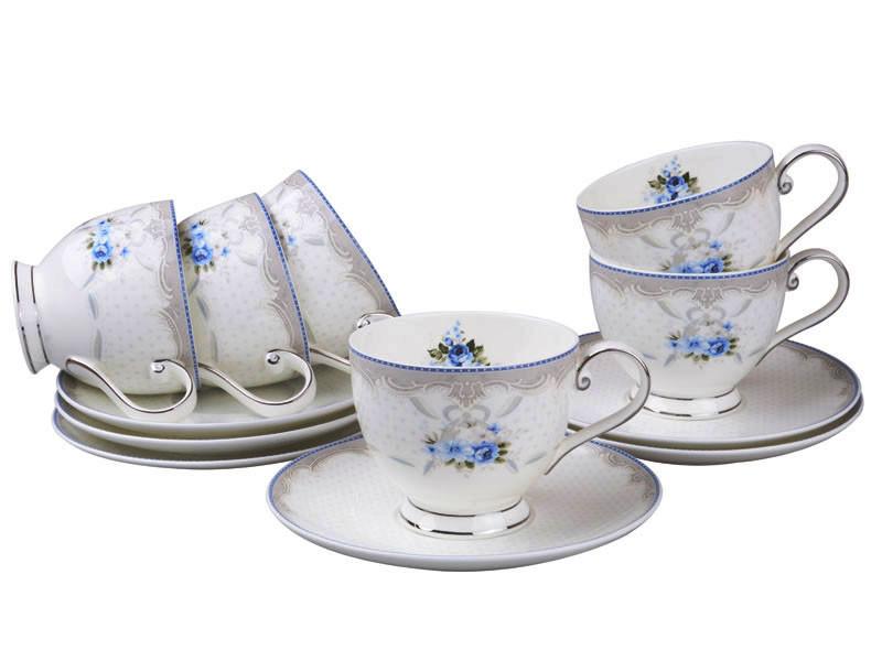 Чайний набір Lefard Ніколь на 12 предметів 264-627