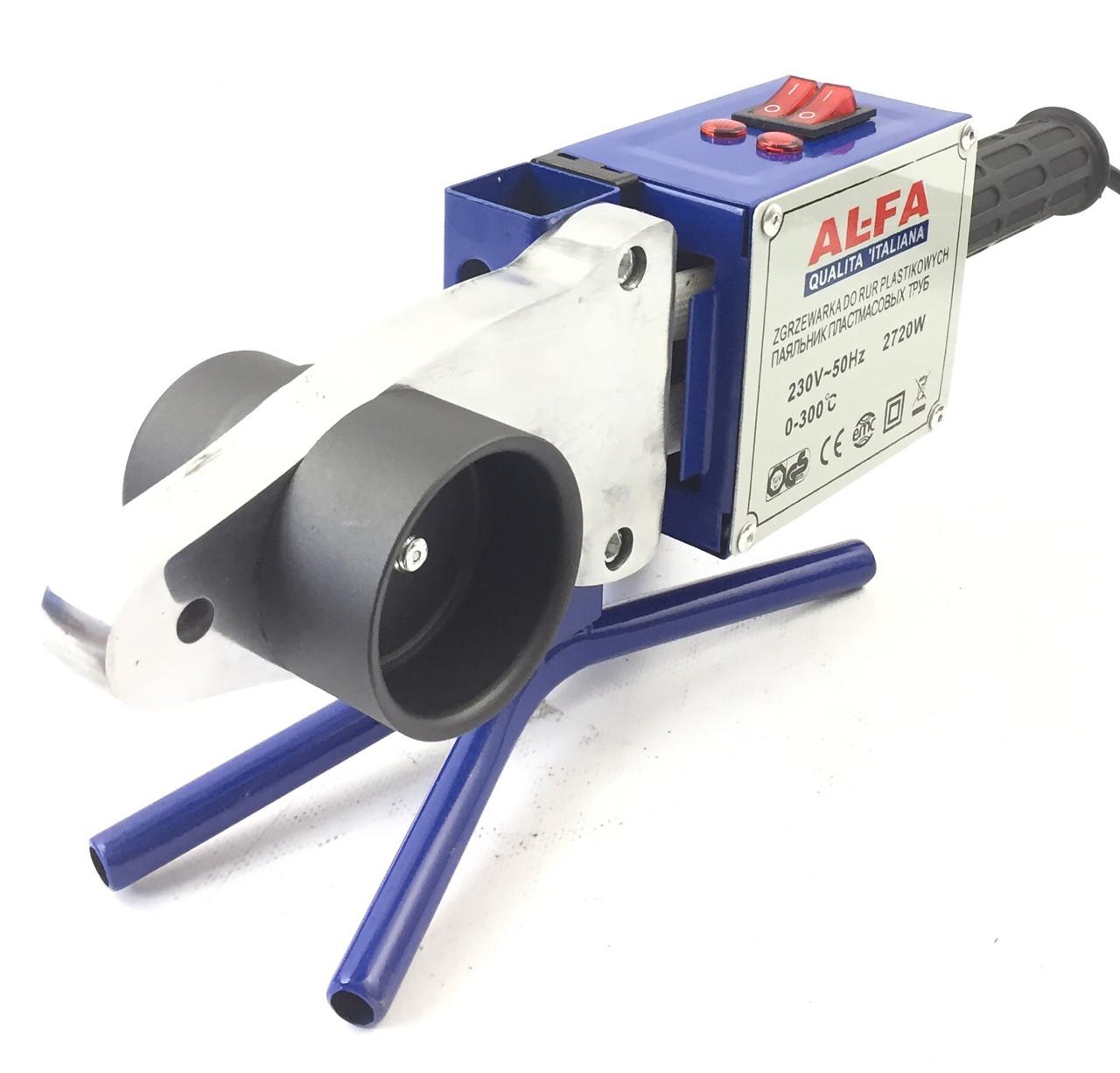 Паяльник для пластиковых труб AL-FA LPW02