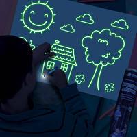 Набор для творчества Рисуй Светом (А4), Детский планшет для рисования, Волшебный планшет для рисования