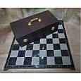 Гра настільна шахи з фігурами з бронзи і мармуровою дошкою Nb-Art 334446, фото 2
