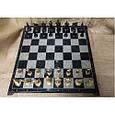 Гра настільна шахи з фігурами з бронзи і мармуровою дошкою Nb-Art 334446, фото 3