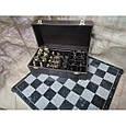 Гра настільна шахи з фігурами з бронзи і мармуровою дошкою Nb-Art 334446, фото 4