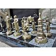 Гра настільна шахи з фігурами з бронзи і мармуровою дошкою Nb-Art 334446, фото 5