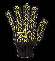 """Перчатки черные """"Зірка"""""""