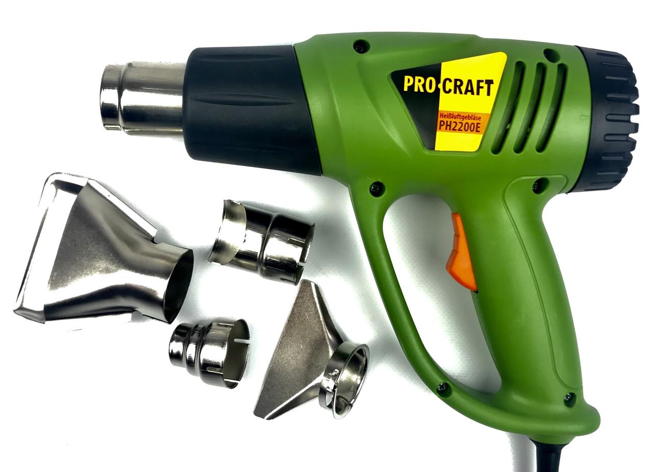 Фен строительный ProCraft Germany (PH-2200E)