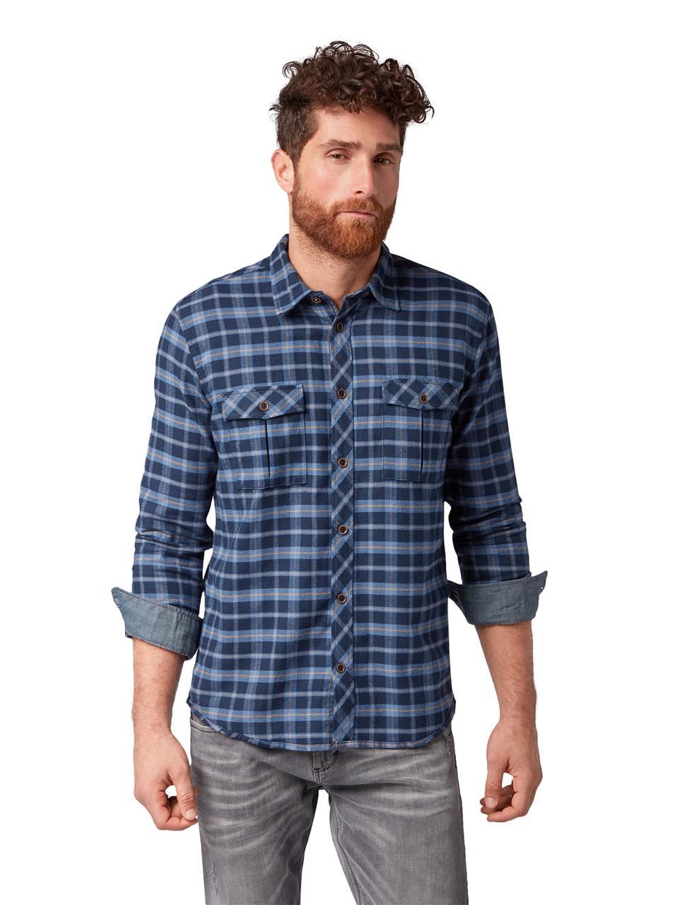 Рубашка Tom Tailor 1005780 S Синий