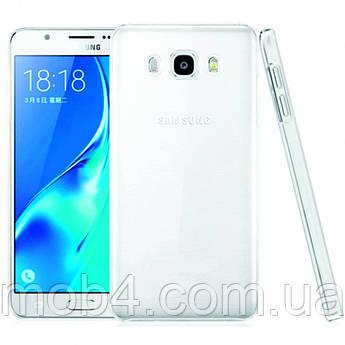 Силиконовый прозрачный чехол для Samsung Galaxy (Самсунг Гелекси) J710
