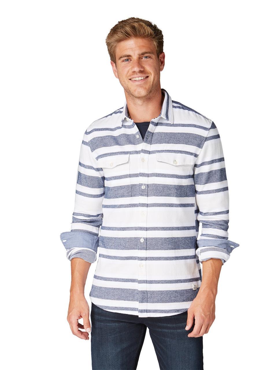 Рубашка Tom Tailor 1006388 M Синий