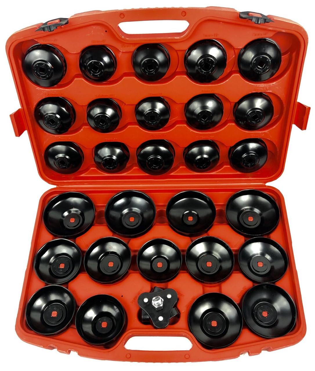 Набор съемников масляных фильтров 30 ед.(LXOS30)