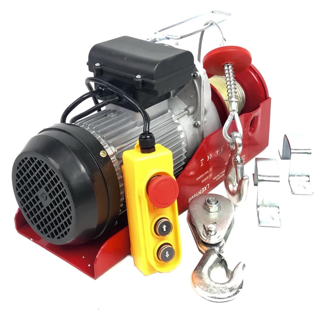 Тельфер электрический LEX 500/1000 кг (LXEH1000)