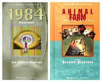 2 книги Джорджа Орвелла: 1984 + Ферма тварин. Англійською мовою