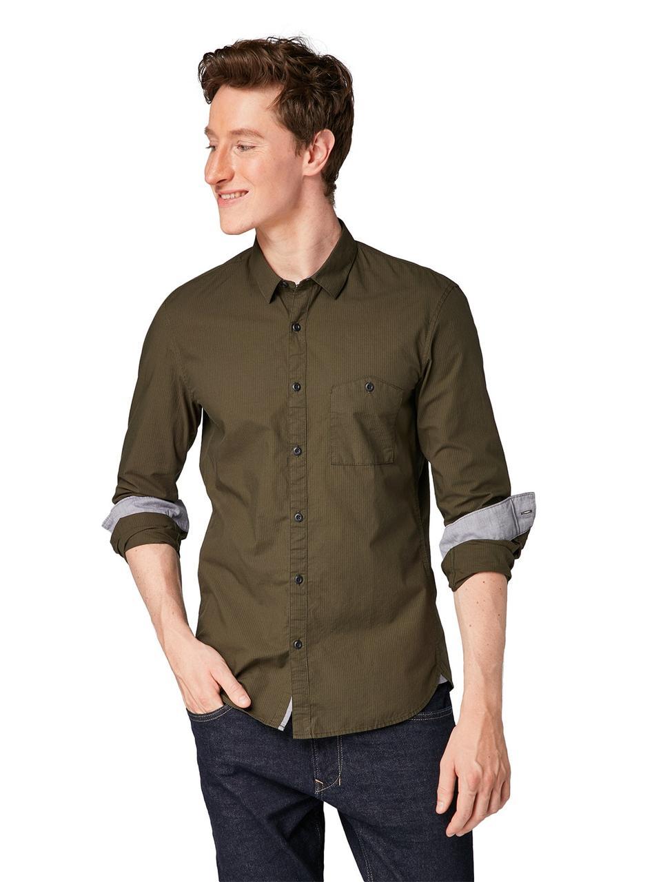 Рубашка Tom Tailor 1006384 S Хаки