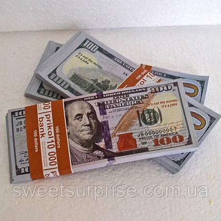 Деньги сувенирные 100 долларов (нового образца), фото 2