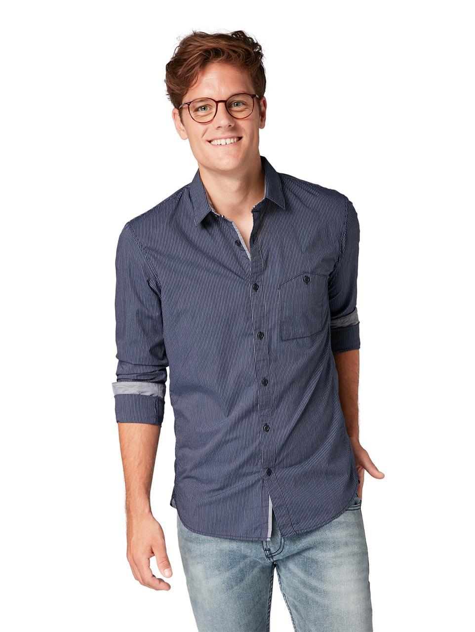 Рубашка Tom Tailor 1006384 M Синий