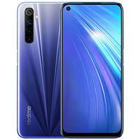 Смартфон Realme 6 4/128GB Blue Official (UA-UCRF) 12 мес