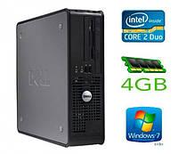 Компьютер Dell Optiplex 780 SFF s775 (E8400/4GB/160GB) б/у