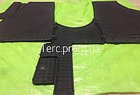 Автомобильные коврики Volkswagen T5 2003- / T6 2015- (1+1) либо (1+2) Комплект резиновых ковриков Т5 Т6