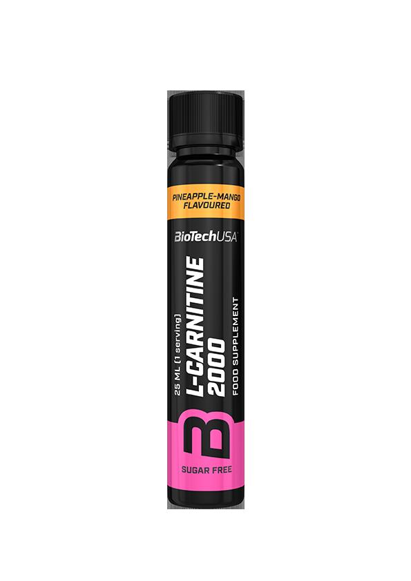 Л-карнитин BioTech L-Carnitine 2000 (25 мл) биотеч лимон