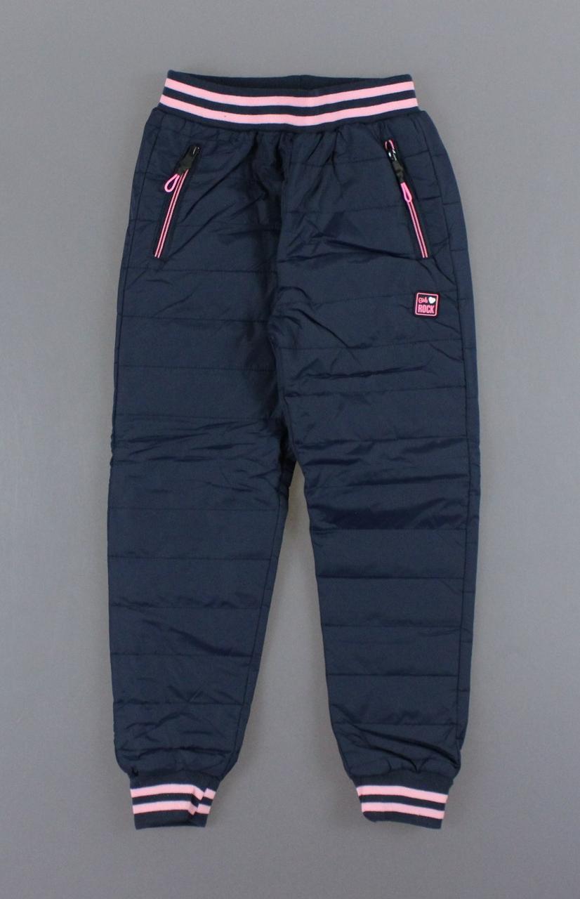 {есть:14 лет} Болоневые утепленные штаны для девочек Miss Wifi ,  Артикул: DL8718-синий  [14 лет]