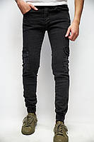 Джинсы джогеры с карманами Fashion Republic Joggers Destry 7360