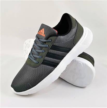 Кроссовки Adidas Мужские Серые Адидас BOOST (размеры: 41,42,43,44,45) Видео Обзор, фото 2