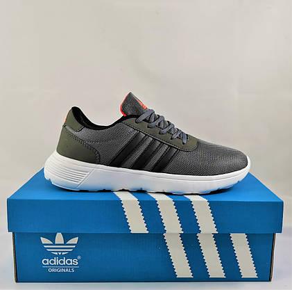 Кроссовки Adidas Мужские Серые Адидас BOOST (размеры: 41,42,43,44,45) Видео Обзор, фото 3