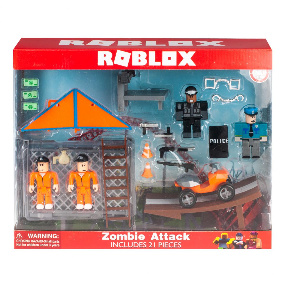 """Игровой набор Roblox """"Тюрьма"""" 4 фигурки с аксессуарами"""
