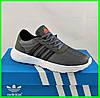 Кроссовки Adidas Мужские Серые Адидас BOOST (размеры: 41,42,43,44,45) Видео Обзор, фото 5