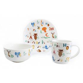 Детский набор столовой посуды ABC 3 предмета Astera A0690-KS-06