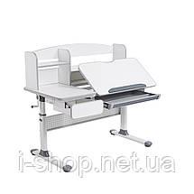 Комплект для школьников парта Cubby Rimu Grey + oртопедическое кресло FunDesk Bravo Green, фото 3