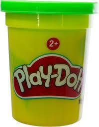 Набір пластиліну, 1 Баночка в асорт. Зелений B6756