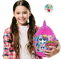 Детский игровой набор для творчества Яйцо сюрприз Единорога Danko Toys Unicorn 30 см 15 сюрпризов