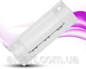 Петля нерегулируемая 75 мм белая (Ral 9016)