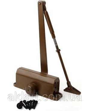 Доводчик дверной EN3 (до 85 кг.), коричневый