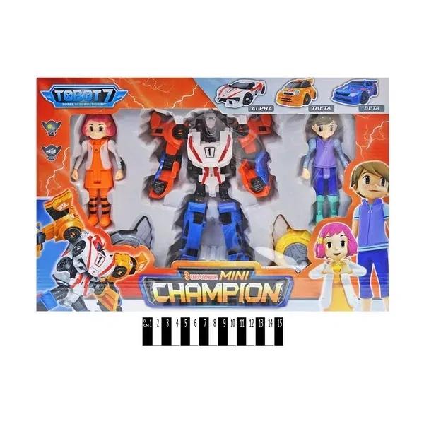 Тобот робот CHAMPION музыкальные и световые эффекты Трансформер