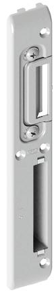 Ответная планка дверного замка, вот 13 мм - длинная (правая), фото 2