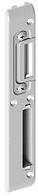 Ответная планка дверного замка, вот 13 мм - длинная (левая)