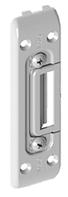 Ответная планка дверного замка, вот 13 мм - короткая (универсальная)