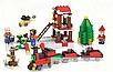 Конструктор Minecraft Новогодний поезд экспресс Майнкрафт 335 Lego, фото 2