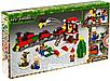Конструктор Minecraft Новогодний поезд экспресс Майнкрафт 335 Lego, фото 3